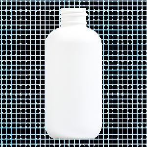 HDPE Boston Round Bottle