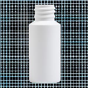 HDPE Cylinder Round Bottle